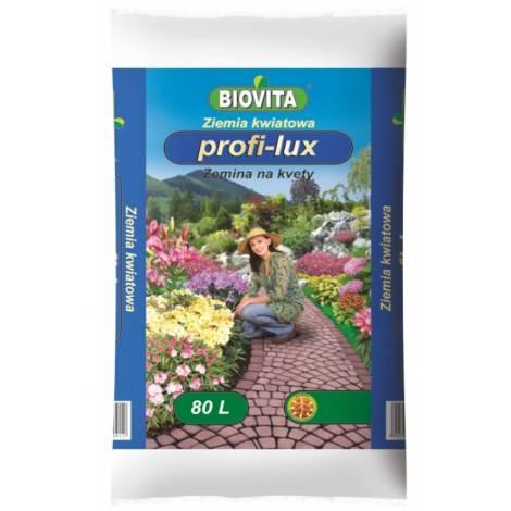 Ziemia kwiatowa PROFI-LUX 80 l Biovita