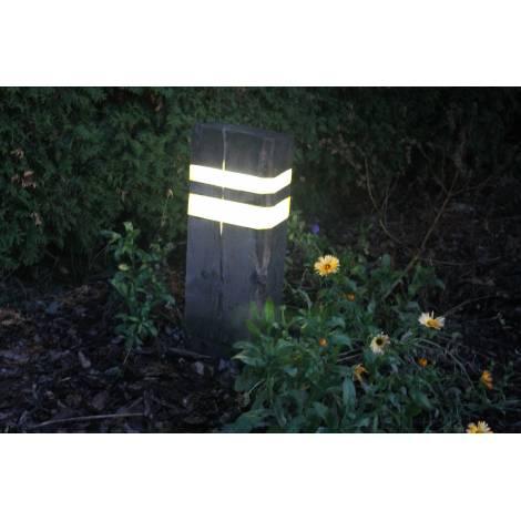 Lampa Ogrodowa Podkład Kolejowy Spa4garden