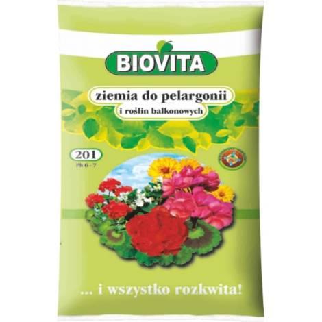 Ziemia do pelargonii 20 l Biovita