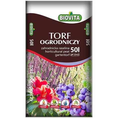Torf ogrodniczy 50 l Biovita