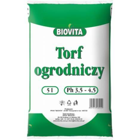 Torf ogrodniczy 5 l Biovita