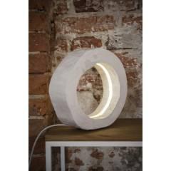 Lampa Pierścień biała