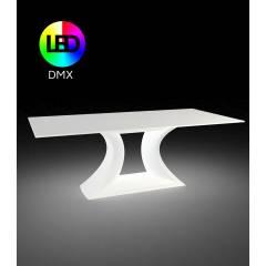 Stół z blatem HPL Rest LED