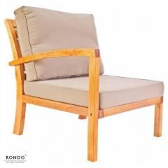 Fotel MILANO z prawym podłokietnikiem