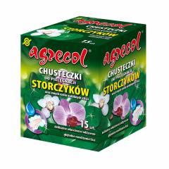 Chusteczki do storczyków i innych roślin ozdobnych z liści Agrecol