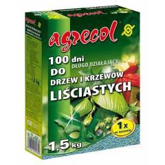 100 dni do drzew i krzewów liściastych- nawóz Agrecol