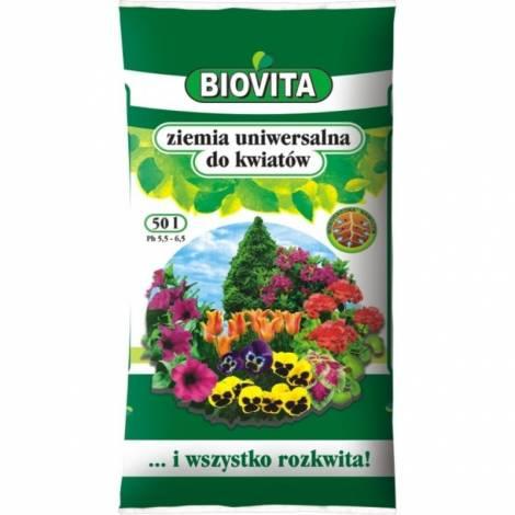 Ziemia uniwersalna do kwiatów 50 l Biovita
