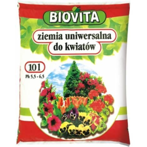 Ziemia uniwersalna do kwiatów 10 l Biovita