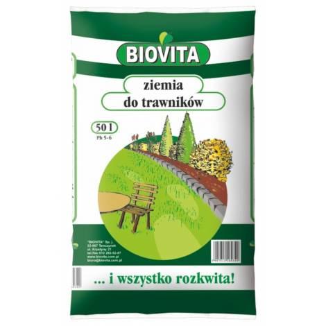 Ziemia do trawników 50 l Biovita