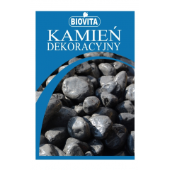 "Kamień dekoracyjny otoczak ""nero ebano"" BIOVITA"