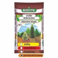 Zrębki dekoracyjne-pomarańczowe BIOVITA