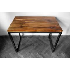 Stół z litego drewna orzechowego